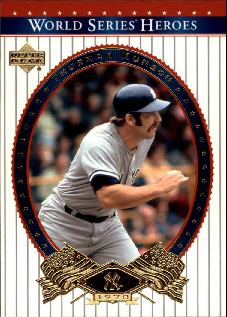 2002 Upper Deck World Series Heroes #77 Thurman Munson