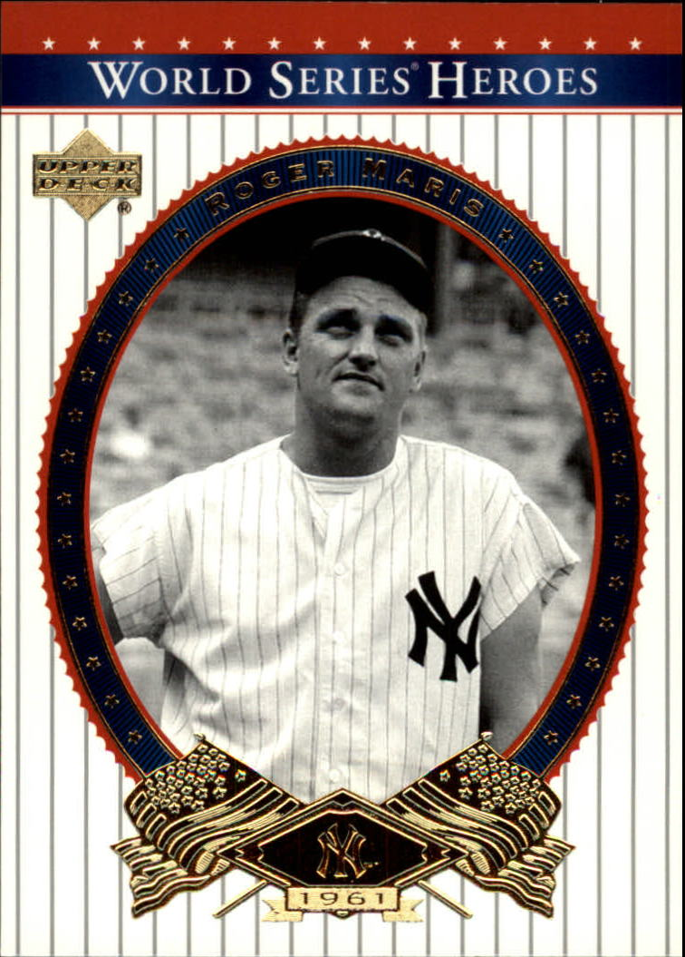 2002 Upper Deck World Series Heroes #78 Roger Maris