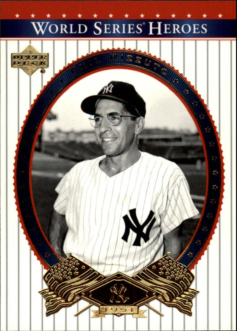 2002 Upper Deck World Series Heroes #79 Phil Rizzuto