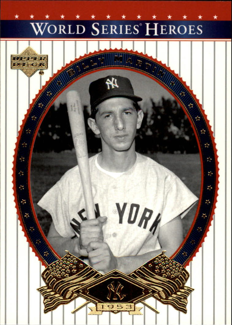2002 Upper Deck World Series Heroes #82 Billy Martin