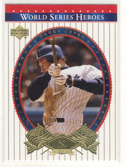 2002 Upper Deck World Series Heroes #83 Derek Jeter