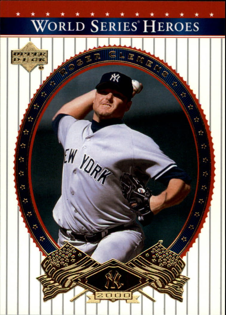 2002 Upper Deck World Series Heroes #84 Roger Clemens