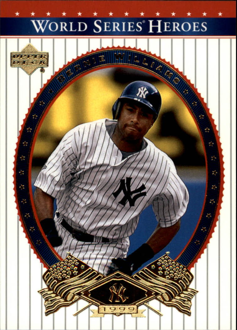 2002 Upper Deck World Series Heroes #86 Bernie Williams