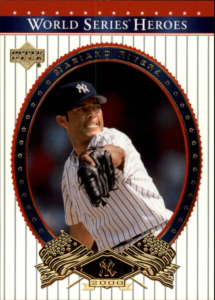 2002 Upper Deck World Series Heroes #87 Mariano Rivera