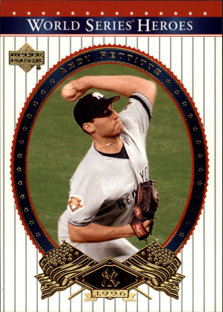 2002 Upper Deck World Series Heroes #88 Andy Pettitte
