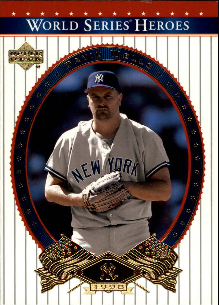 2002 Upper Deck World Series Heroes #89 David Wells
