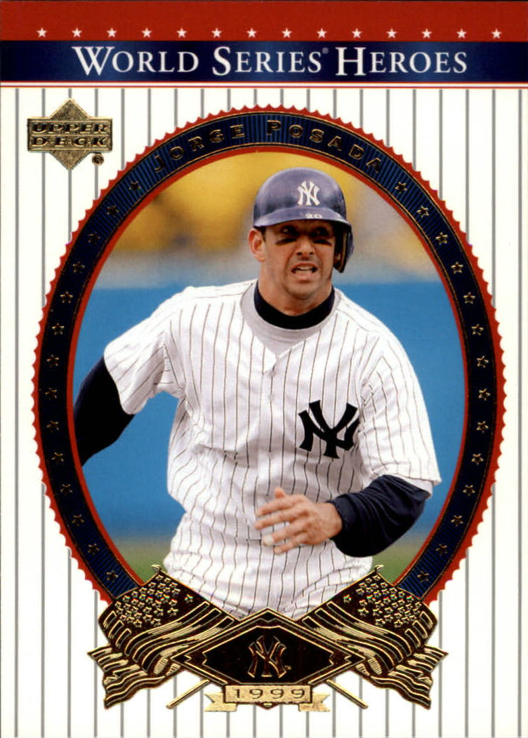 2002 Upper Deck World Series Heroes #90 Jorge Posada
