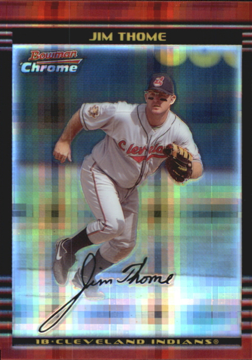 2002 Bowman Chrome X-Fractors #50 Jim Thome