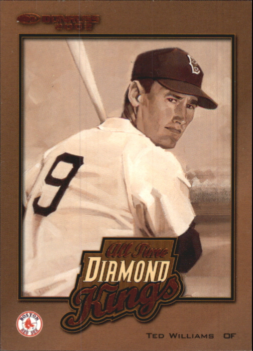 2002 Donruss All-Time Diamond Kings #1 Ted Williams