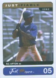 2002 Justifiable Prototypes #5 B.J. Upton