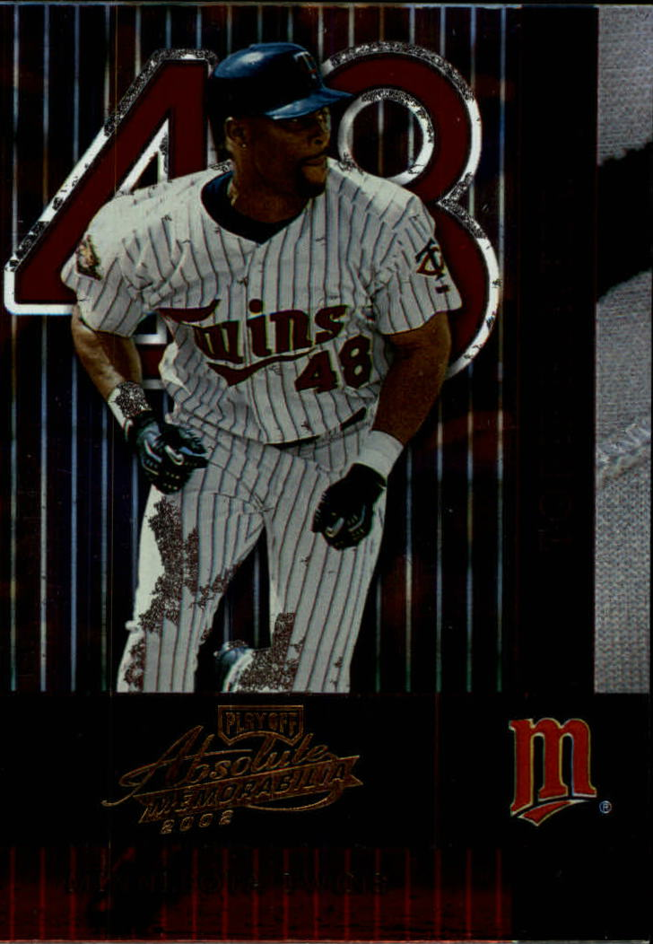 2002 Absolute Memorabilia #80 Torii Hunter