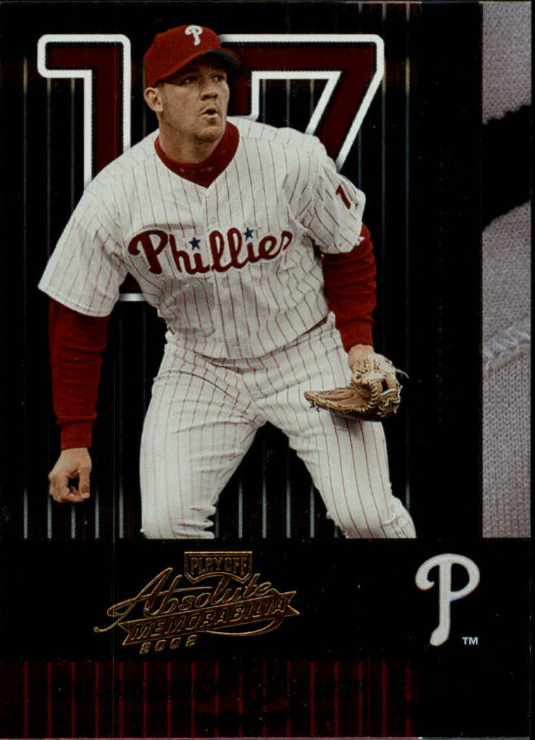 2002 Absolute Memorabilia #112 Scott Rolen