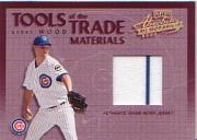 2002 Absolute Memorabilia Tools of the Trade Materials #22 Kerry Wood Jsy