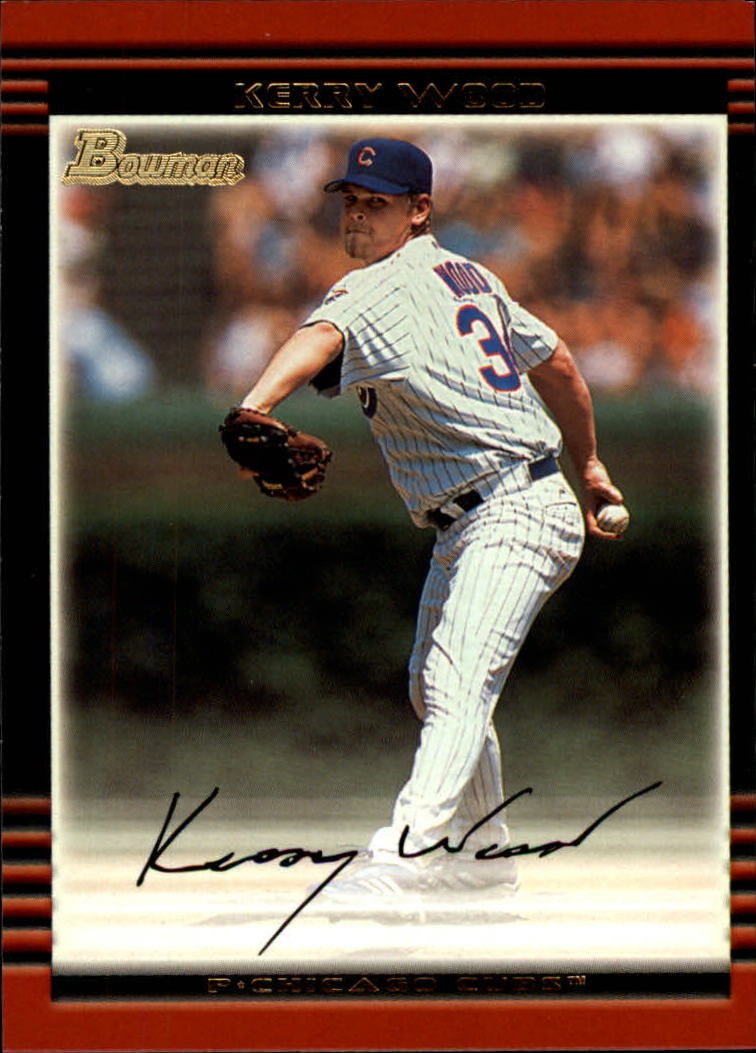 2002 Bowman #60 Kerry Wood