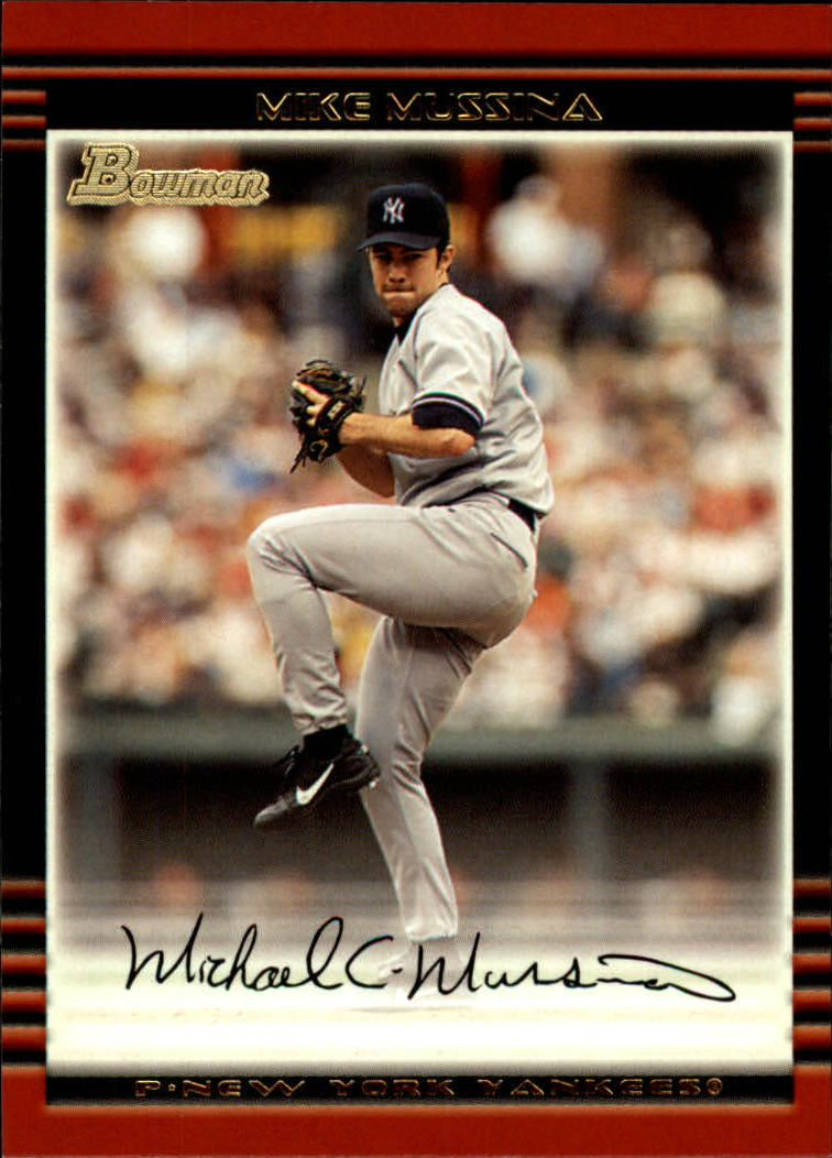 2002 Bowman #70 Mike Mussina