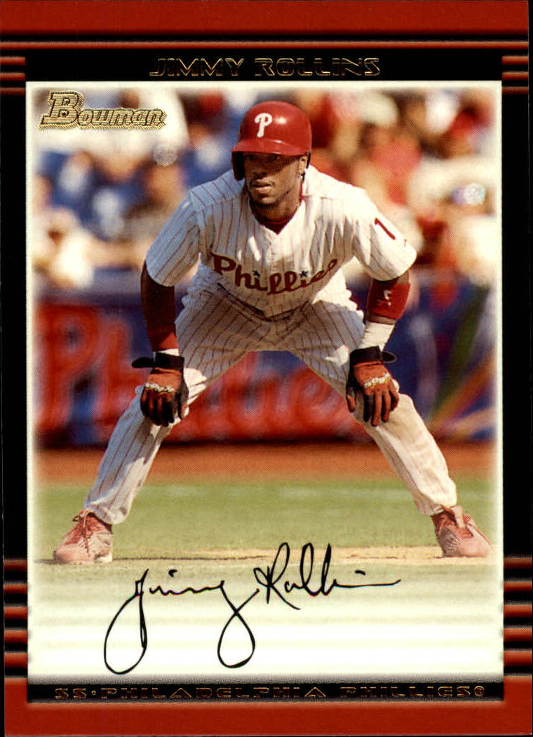 2002 Bowman #72 Jimmy Rollins