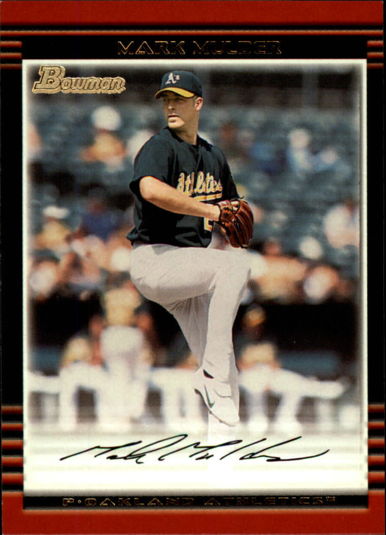 2002 Bowman #108 Mark Mulder