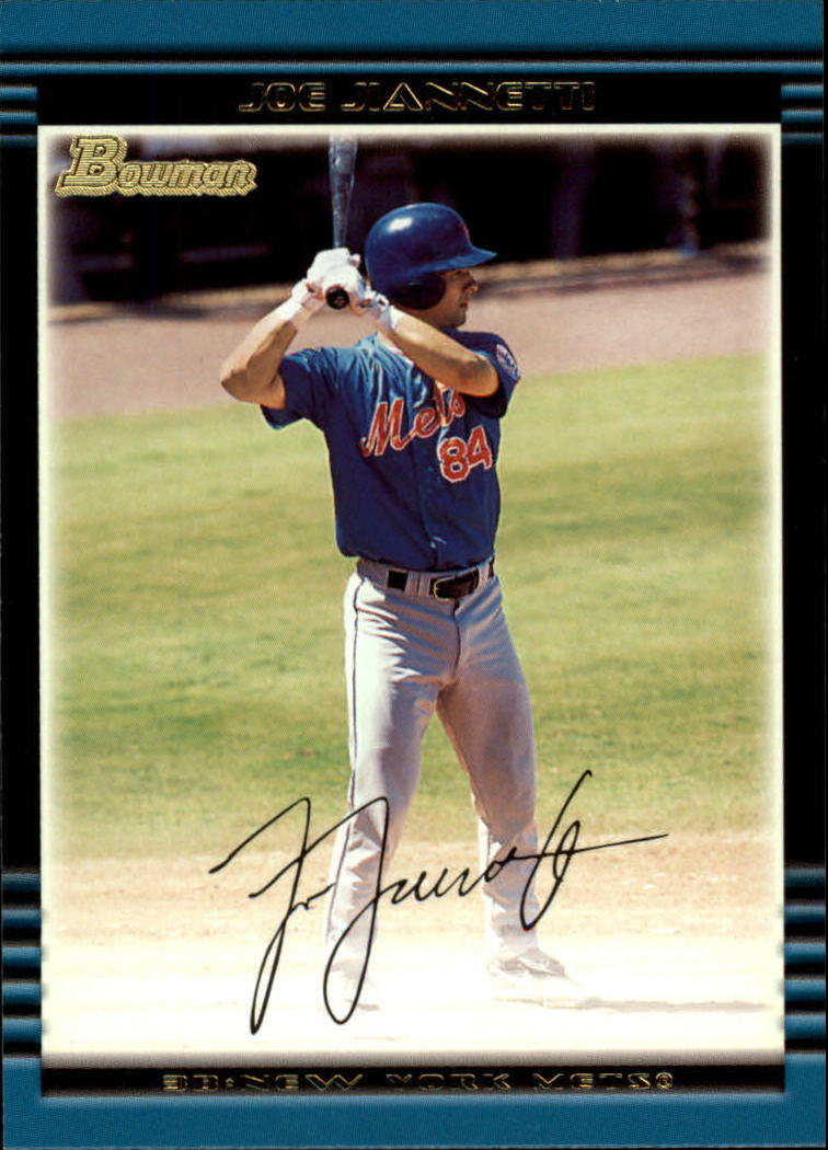 2002 Bowman #214 Joe Jiannetti RC