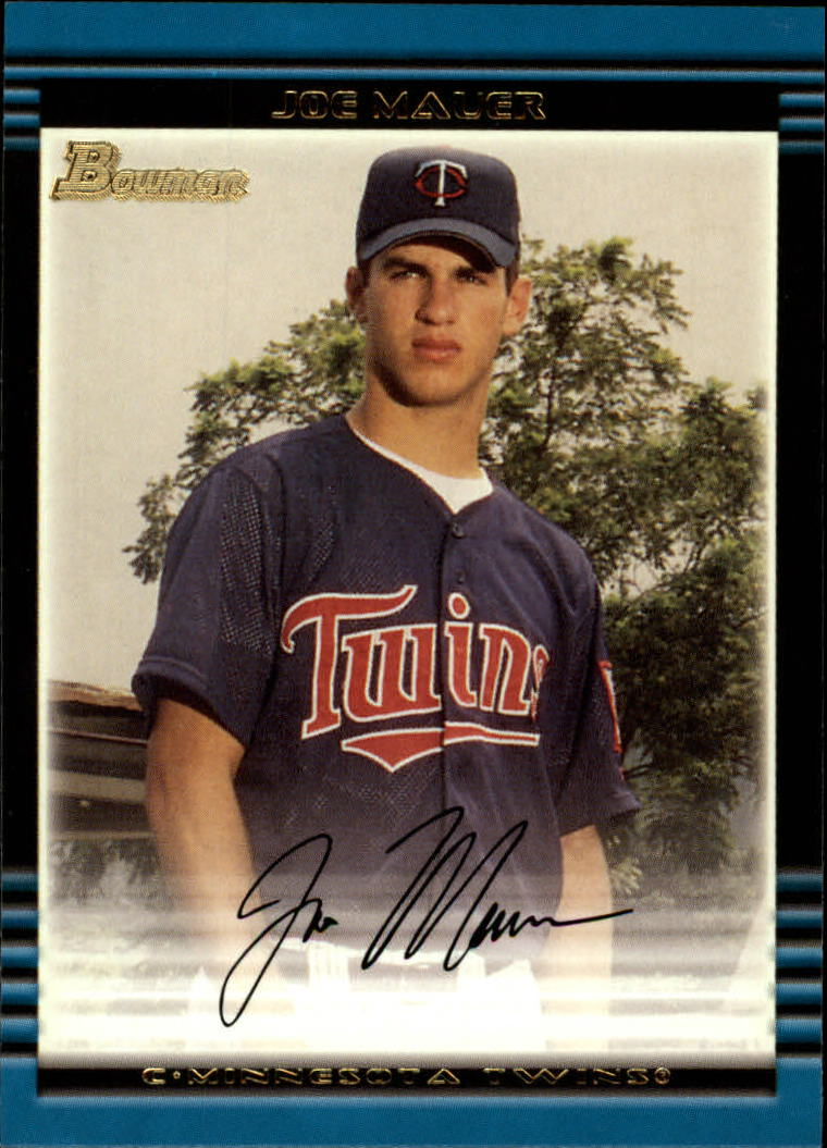 2002 Bowman #379 Joe Mauer RC