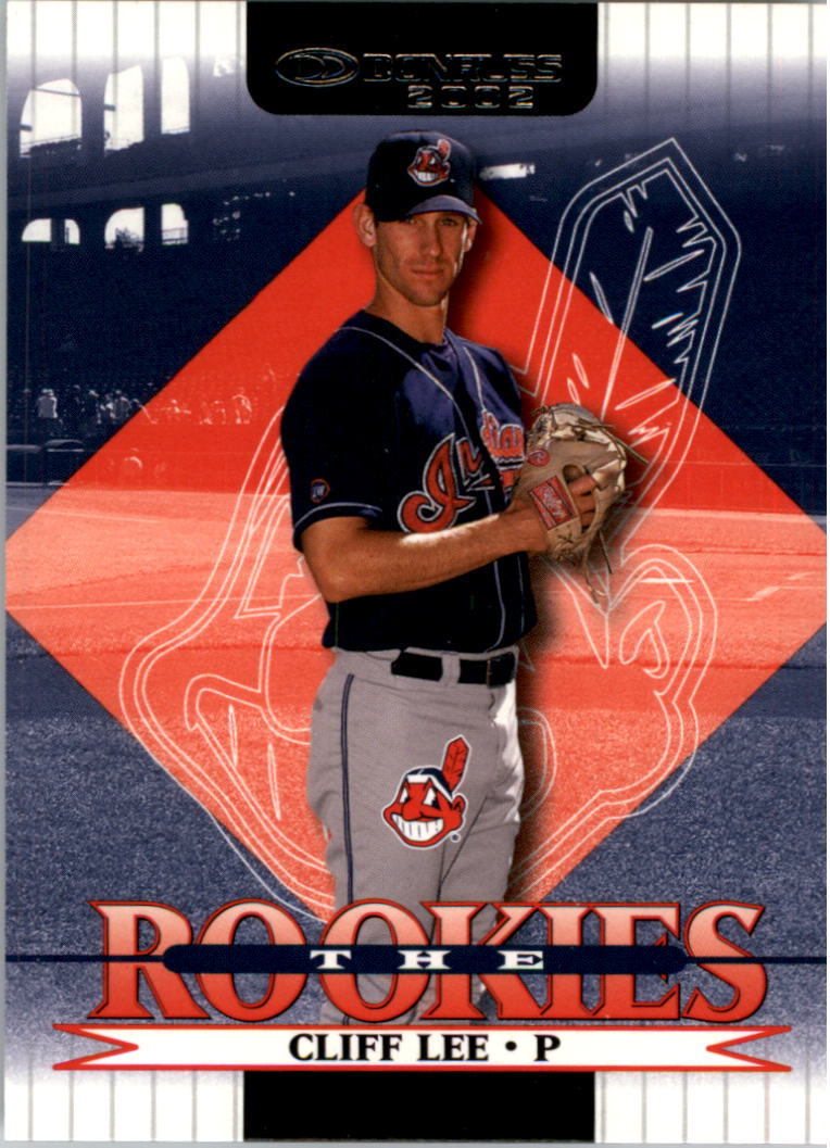 2002 Donruss Rookies #104 Cliff Lee RC