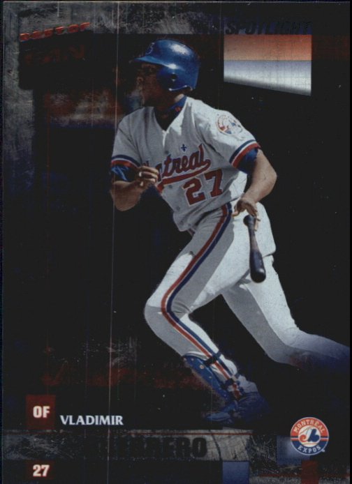 2002 Donruss Best of Fan Club Spotlight #3 Vladimir Guerrero