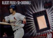 2002 Donruss Best of Fan Club Pure Power Masters Game Bat #PP10 Albert Pujols