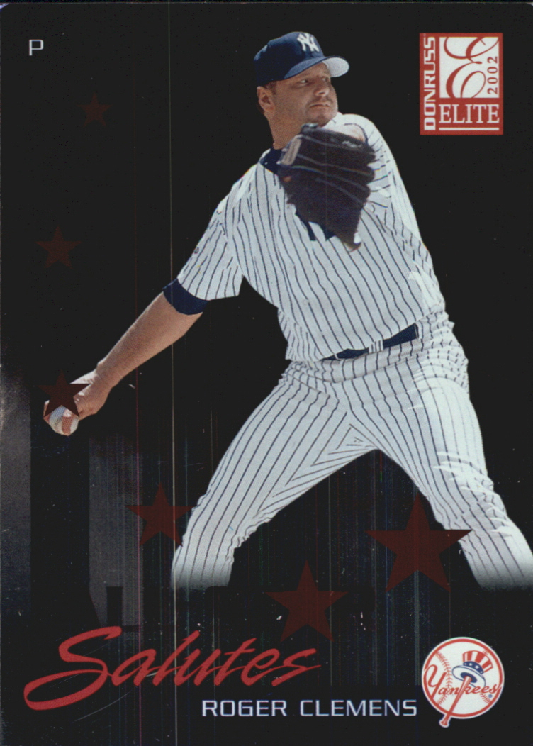2002 Donruss Elite All-Star Salutes #5 Roger Clemens/1998