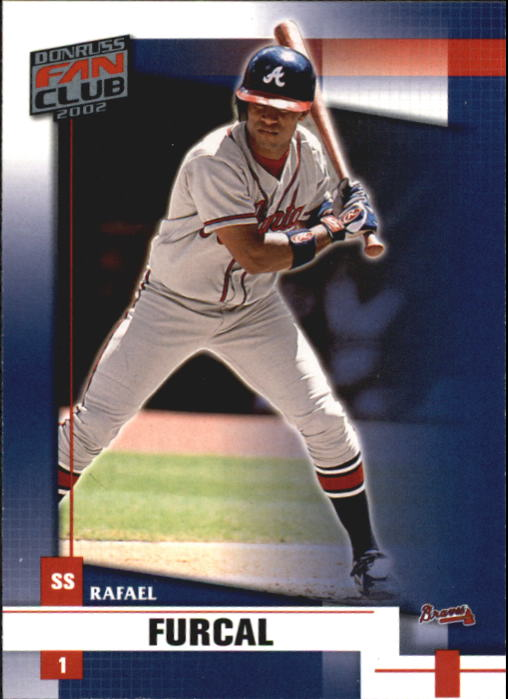 2002 Donruss Fan Club #7 Rafael Furcal