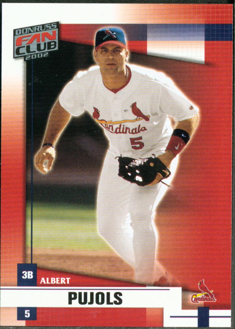 2002 Donruss Fan Club #40 Albert Pujols