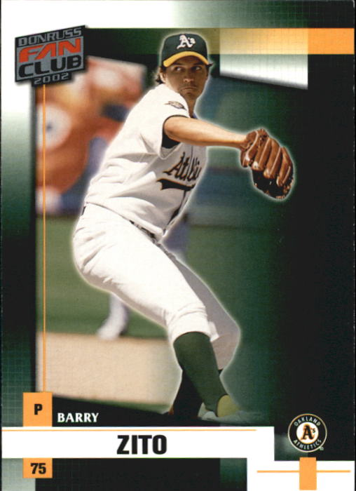 2002 Donruss Fan Club #41 Barry Zito