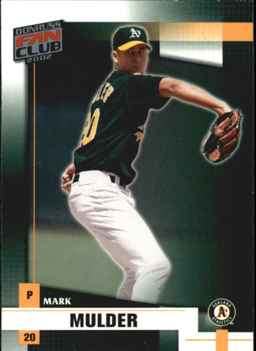 2002 Donruss Fan Club #69 Mark Mulder