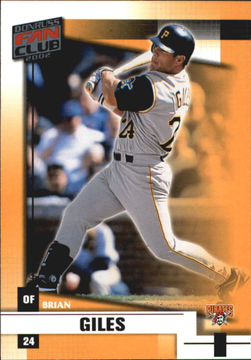 2002 Donruss Fan Club #88 Brian Giles