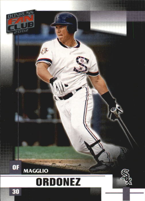 2002 Donruss Fan Club #92 Magglio Ordonez