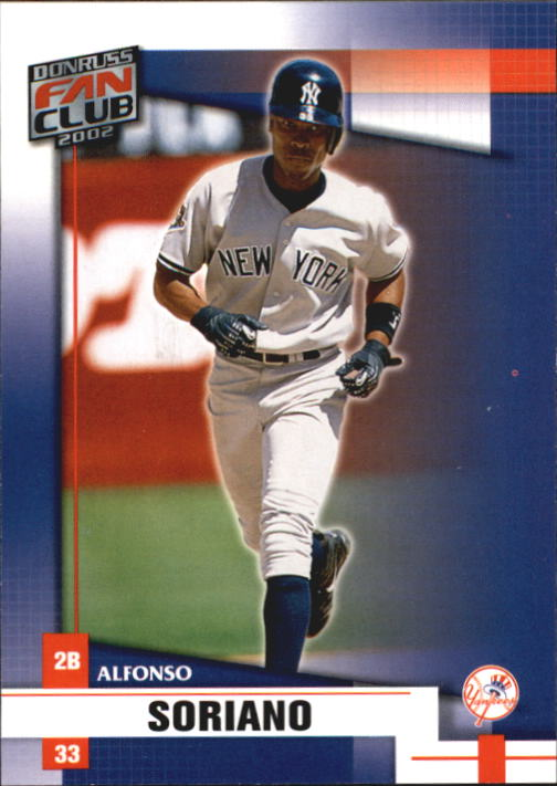 2002 Donruss Fan Club #101 Alfonso Soriano