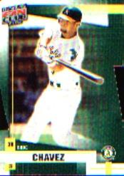 2002 Donruss Fan Club Die-Cuts #21 Eric Chavez