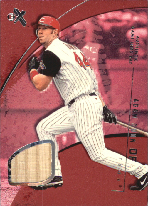 2002 E-X Essential Credentials Now #41 Adam Dunn Bat/41