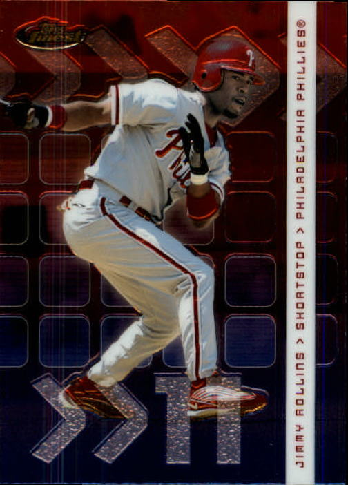 2002 Finest #39 Jimmy Rollins