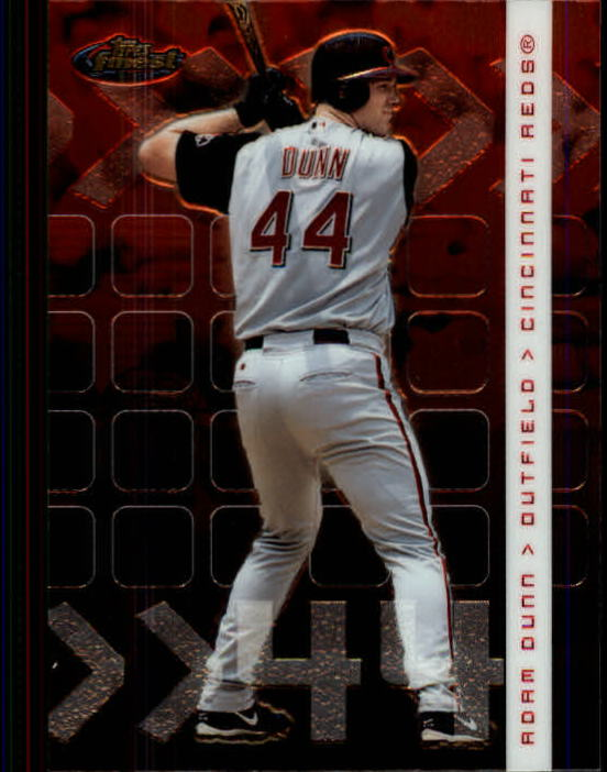 2002 Finest #75 Adam Dunn