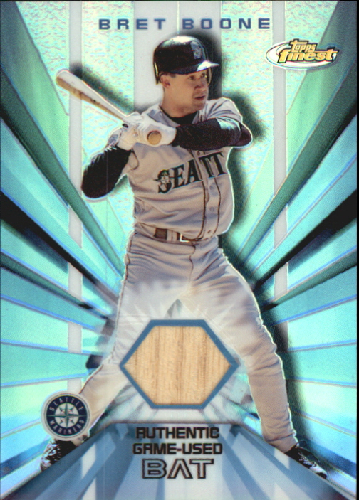2002 Finest Bat Relics #FBRBB Barry Bonds