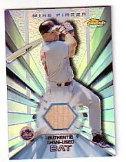 2002 Finest Bat Relics #FBRMP Mike Piazza