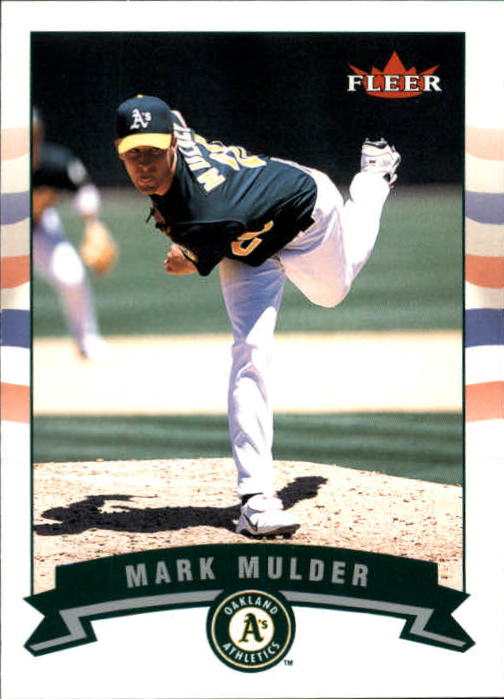 2002 Fleer #91 Mark Mulder
