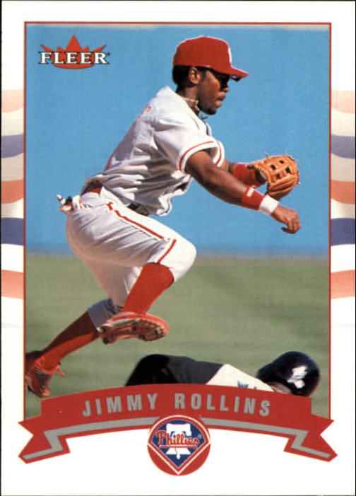 2002 Fleer #217 Jimmy Rollins