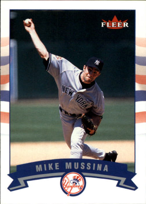 2002 Fleer #293 Mike Mussina