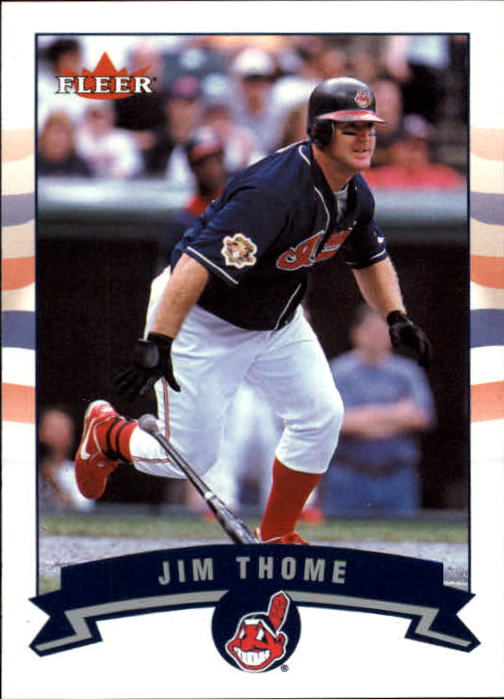 2002 Fleer Gold Backs #47 Jim Thome