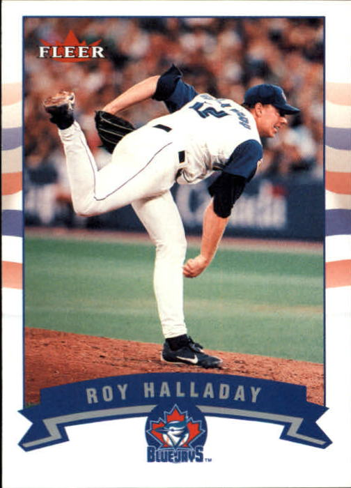 2002 Fleer Gold Backs #96 Roy Halladay