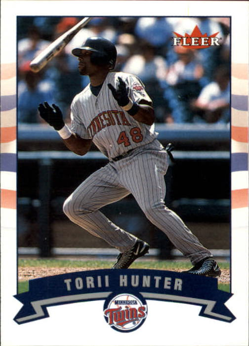 2002 Fleer Gold Backs #421 Torii Hunter