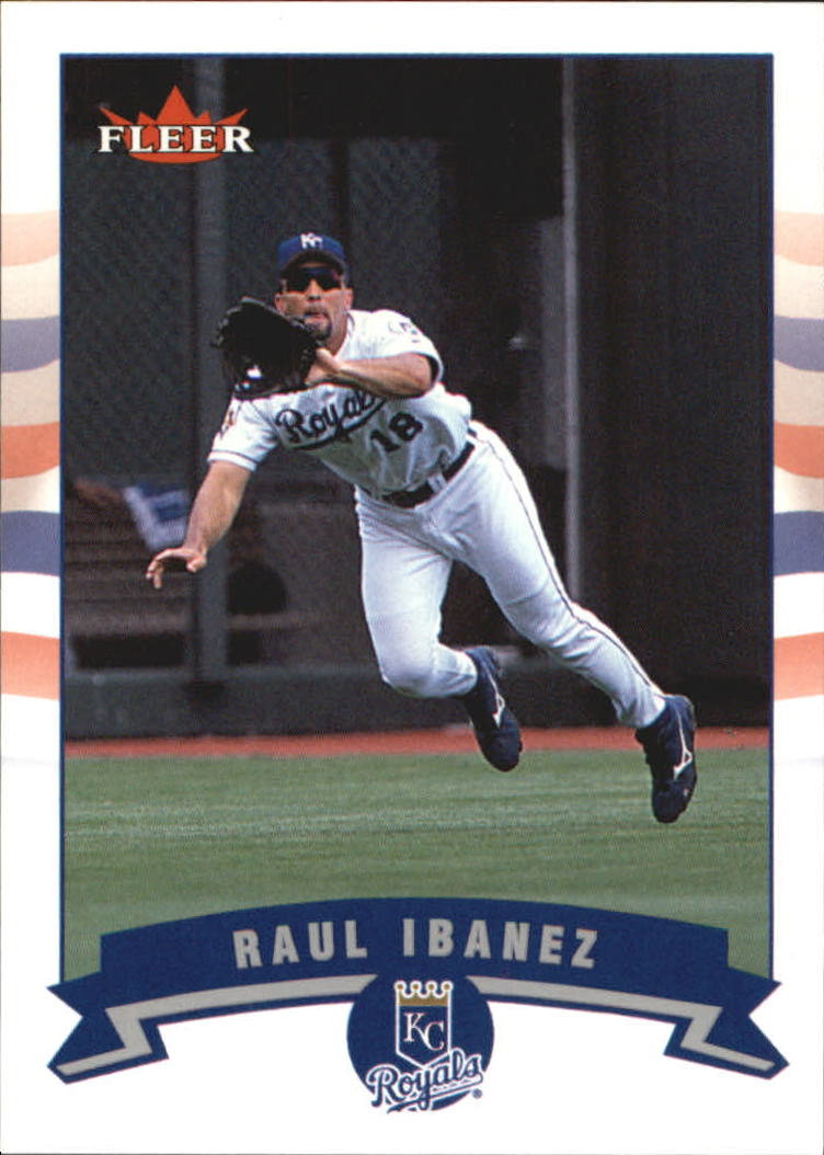 2002 Fleer Tiffany #144 Raul Ibanez