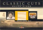 2002 Fleer Classic Cuts Game Used #RKB Ralph Kiner Bat/47