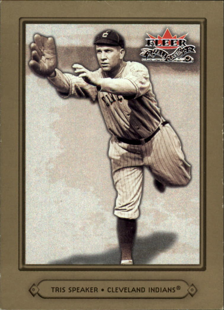 2002 Fleer Fall Classics #2 Tris Speaker