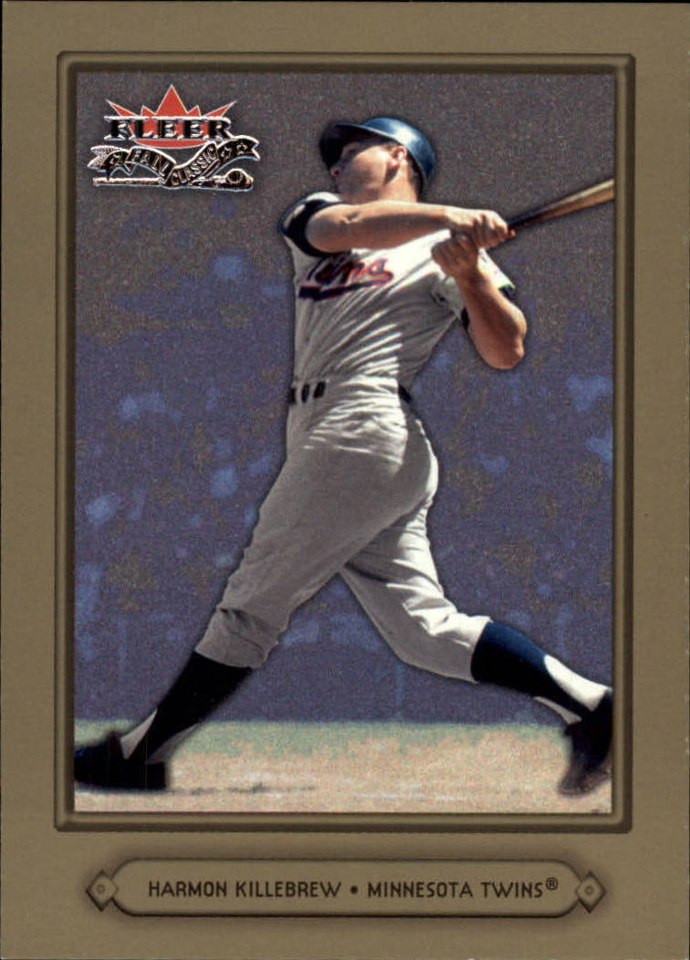 2002 Fleer Fall Classics #3 Harmon Killebrew